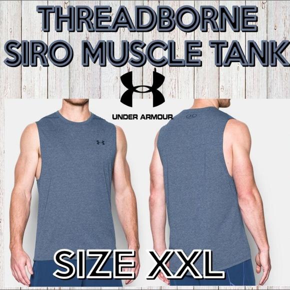 ac7b2720d4674 NWT Under Armour Threadborne Siro Muscle Tank